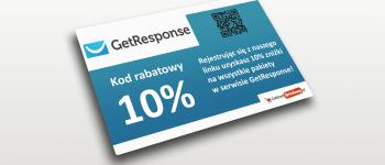 kod rabatowy getresponse
