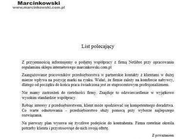 netlibre-opinia-klienta-Marcinkowski