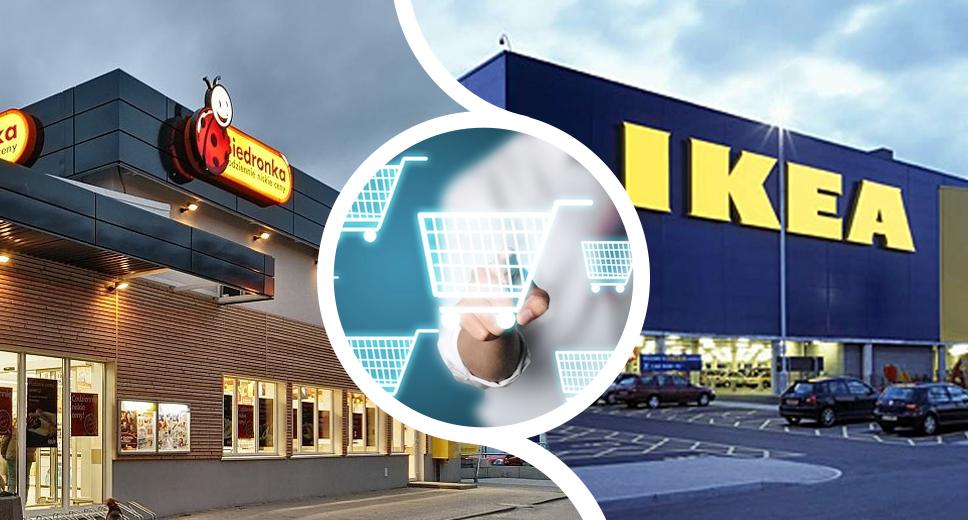 Giganci otwierają sklepy internetowe