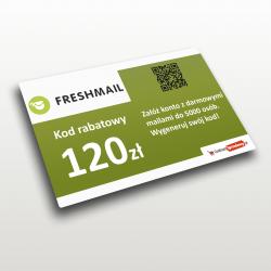 kod rabatowy freshmail
