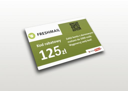 freshmail kod rabatowy