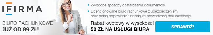 kod promocyjny ifirma - ifirma biuro rachunkowe banner szeroki