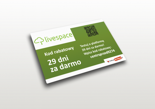 kod rabatowy livespace