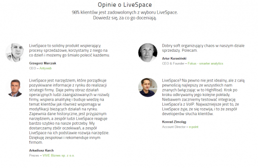 livespace crm opinie