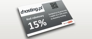 dhosting kod rabatowy