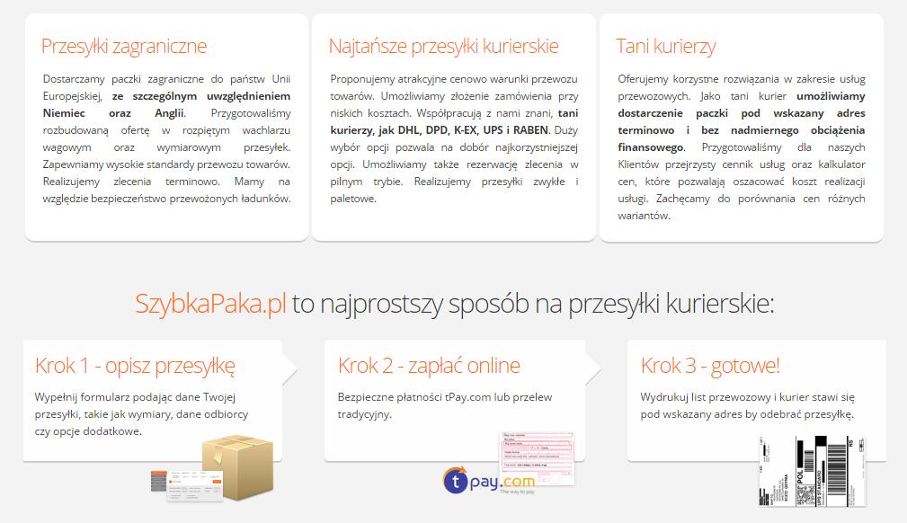 a48f83f76c166 Kupon rabatowy SzybkaPaka -15% na wysyłkę dowolnej paczki!