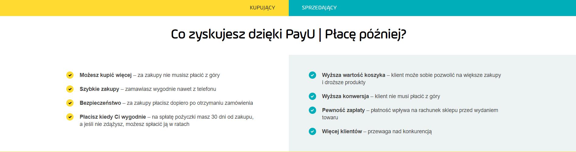 a3b93330628488 PayU płacę później – nowa usługa dla sklepów internetowych!