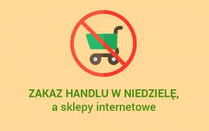 zakaz handlu w niedziele, a sklepy internetowe